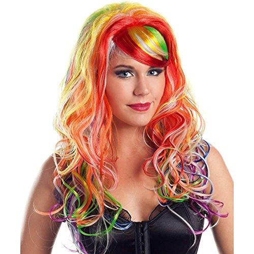 Glow in the Dark Wig Costume -