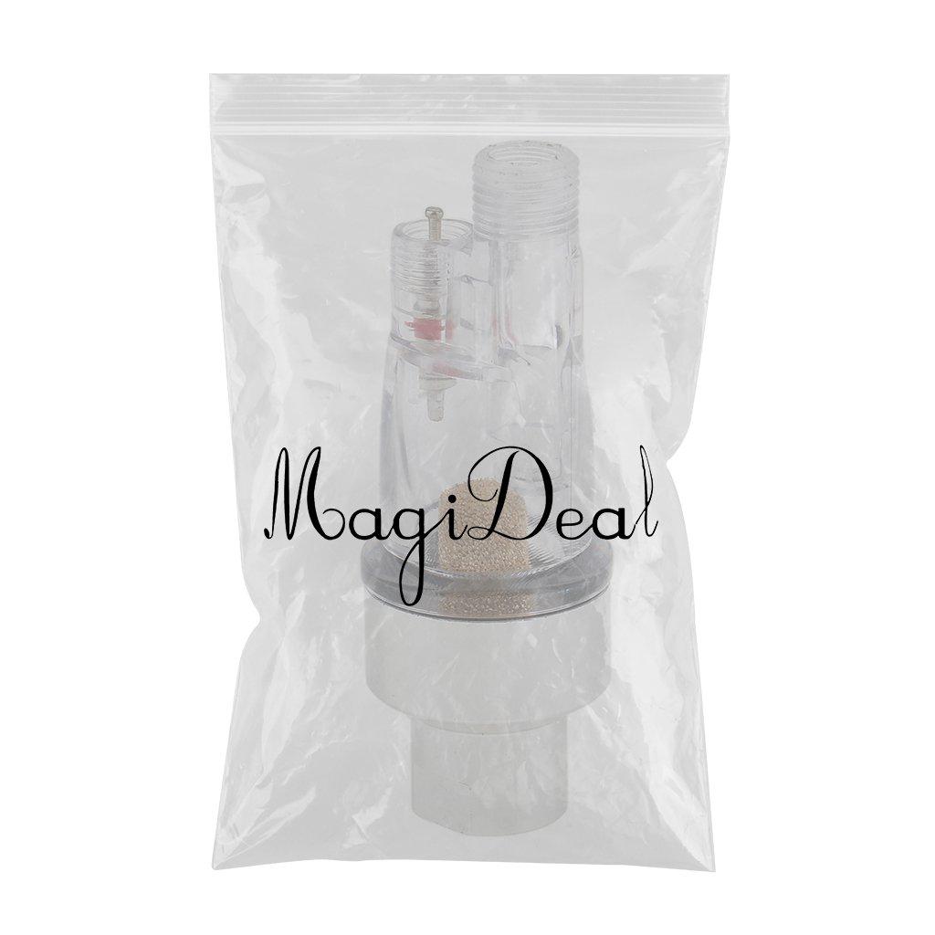 MagiDeal 1//8 Airbrush Mini-filtro en L/ínea Filtro de Aire Filtro de Humedad Trampa de Agua