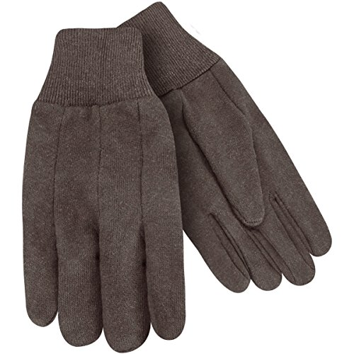 - Steiner 00191-L Work Gloves, Brown Jersey 7-Ounce Knit Wrist, Large (12-Pack)