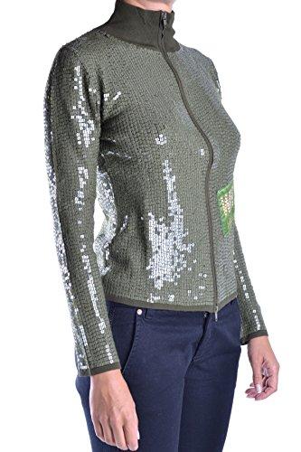 Whos Who Femme MCBI312029O Vert Viscose Sweatshirt