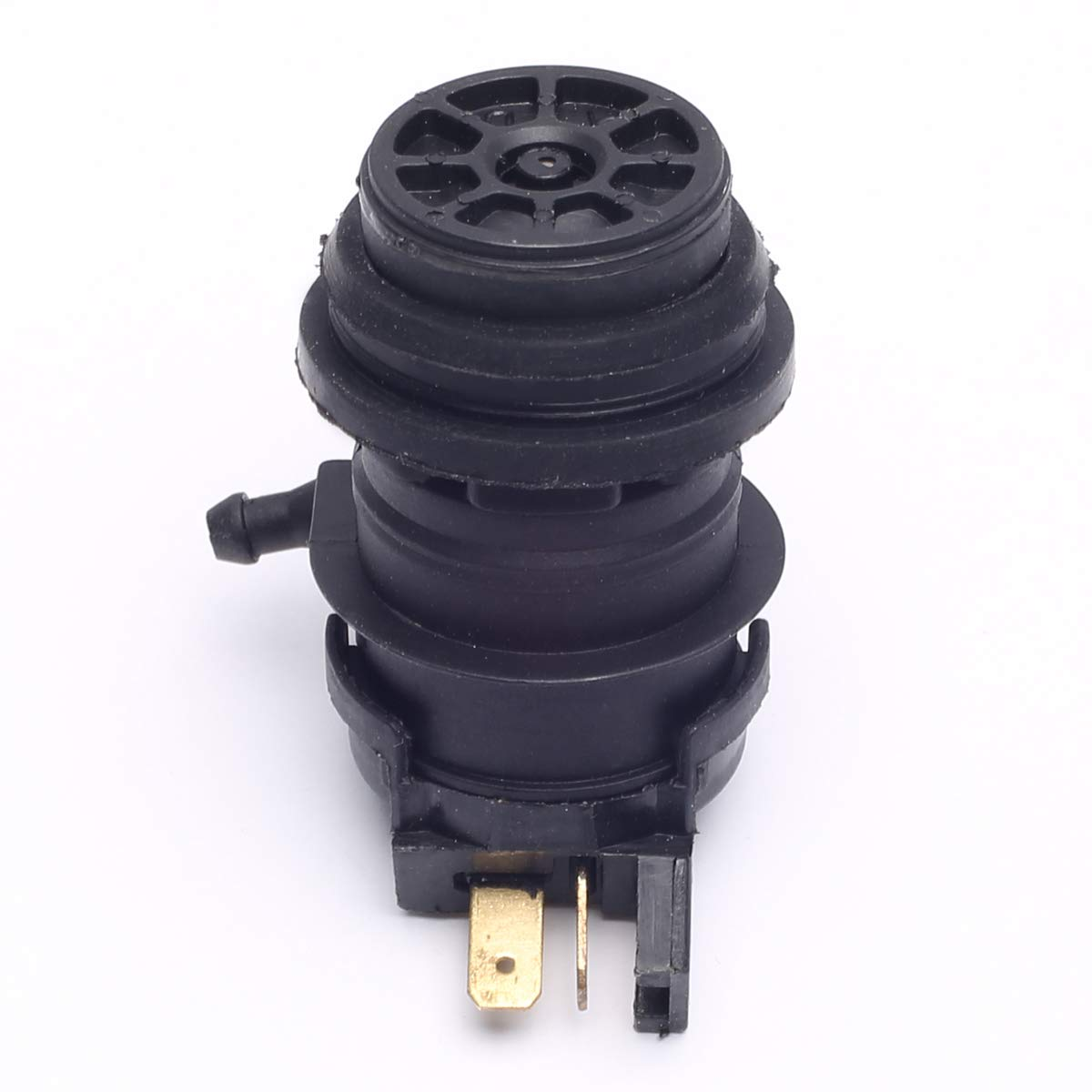 PeakCar Windshield Washer Pump Compatible with Honda Civic Ridgeline Toyota Mazda Subaru and More Replace Part# 060210-4990, 76806-SJC-A01 06021-5130, 89521007001
