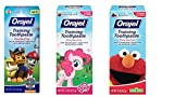 Orajel Toddler Training Toothpaste 3 Flavor Variety Pack 1.5 Oz Each (3 pack variety)