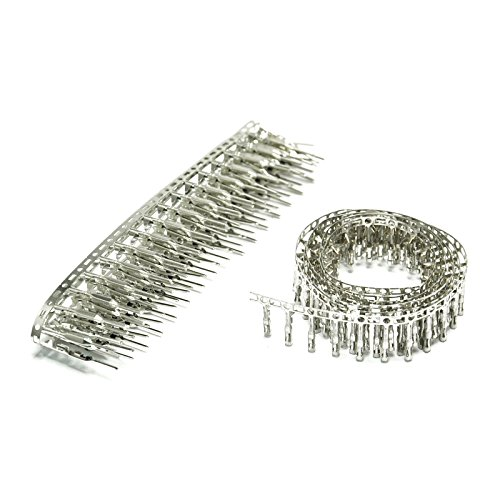 Gikfun Female and male Pin Connector Terminal 2.54mm for Dupont Jumper Wire Each 100pcs EK8284 (Connectors Wire Pin)