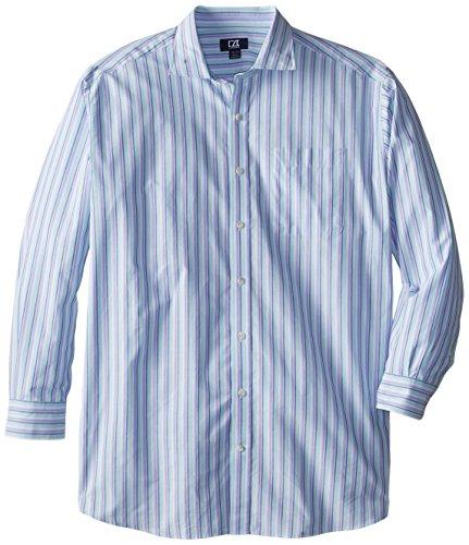 - Cutter & Buck Men's Big-Tall Long Sleeve South Hampton Stripe, Multi, 3X/Big
