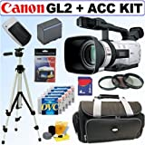 Canon GL2 MiniDV Digital Camcorder + Deluxe Accessory Kit