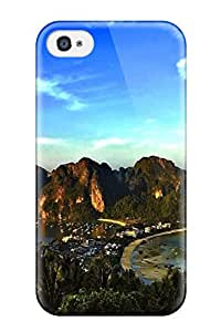 Marc Stanley Iphone 4/4s Hybrid Tpu Case Cover Silicon Bumper Place Photography People Photography