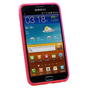 Peach S-Line Soft TPU Gel Case Cover For Samsung Galaxy Note / i9220 GT-N7000