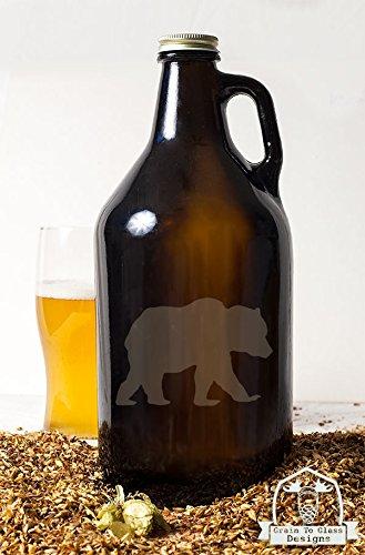 Black Bear Beer Growler Gift