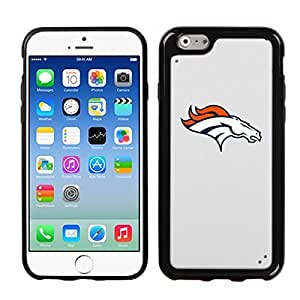 iPhone 6 [ 4.7 INCH ] White Black King Case Denver Broncos WANGJING JINDA