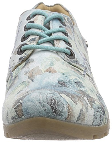 Zarah Zapatos Ii multicolour Mujer 901 Shoes Mehrfarbig grey lt Derby De Marc Varios Cordones Colores pqa1n