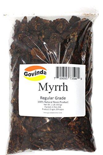 Govinda - Myrrh Resin Incense 1 lb - Regular Grade