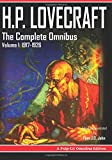 H.P. Lovecraft, The Complete Omnibus Collection, Volume I: 1917-1926