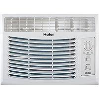 Haier HWF05XCR 5,000 BTU 115V 11.0 CEER 150 sq. ft. Window-Mounted Air Conditioner (AC)