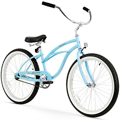 "Firmstrong Urban Lady 24"" Single Speed Beach Cruiser Bicy..."