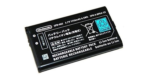 Nintendo 3DS XL Battery Replacement SPR-003 by Mani: Amazon.es: Videojuegos