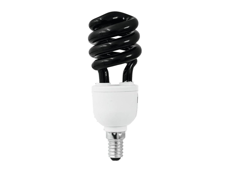 Lampe Schwarzlicht UV spirale E27 15w
