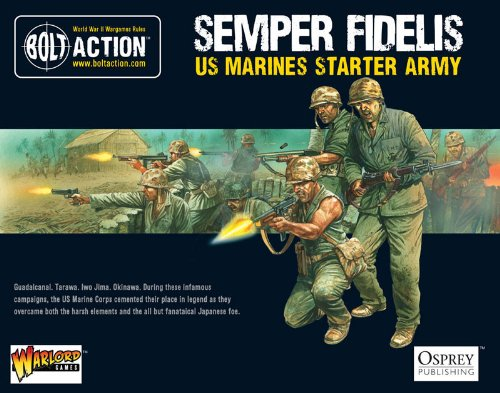 (Warlord Games Bolt Action: US Marine Corps Starter Army)