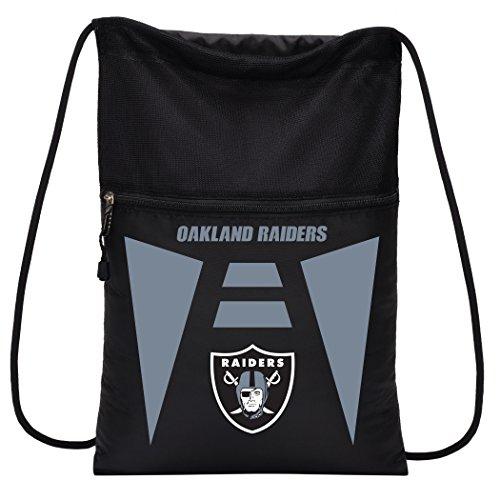 NFL Oakland Raiders Sports Fan Backpacks, black, One Size