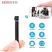 HD The Smallest P2P Wifi Spy Camera DIY Mini Wifi Module Hidden Camera Motion Activated Video Recorder DV Camcorder for IOS Android APP Remote View