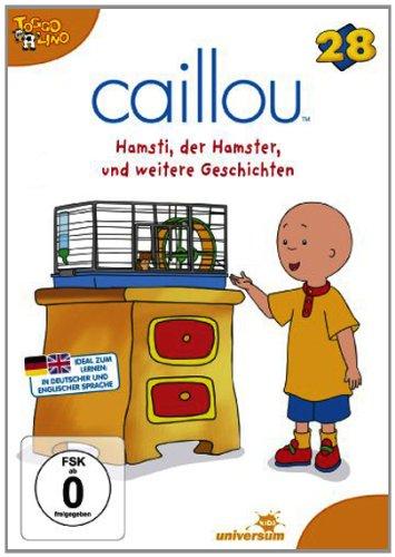 Caillou Weihnachten.Amazon Com Caillou 28 Hamsti Der Hamster Und Andere Geschichten