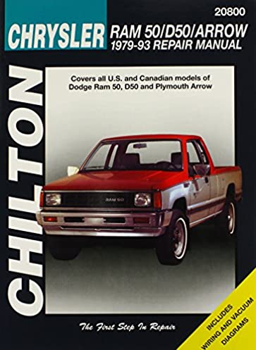 dodge ram 50 d50 and arrow 1979 93 chilton total car care series rh amazon com dodge ram 50 repair manual dodge ram 50 repair manual pdf
