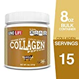 Product review for LonoLife Grass Fed Collagen Peptides, Vanilla Flavor, 10g Protein, 8 ounce Bulk Container, 17 Servings