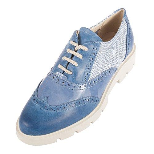 Denim blank Flexx de para mujer Zapatos cordones 7Z07Oa