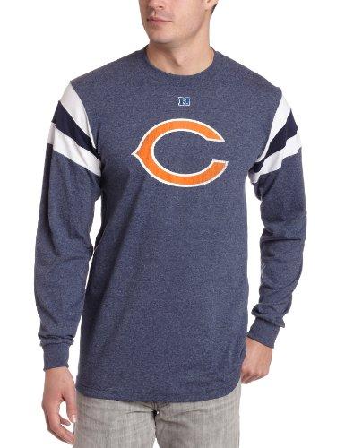 NFL Men's Chicago Bears End Of Line III Long Sleeve (Mens Chicago Bears End)