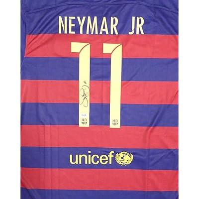 brand new d7fab 203b4 Neymar Jr. Signed Barcelona Qatar Airways Nike Authentic ...