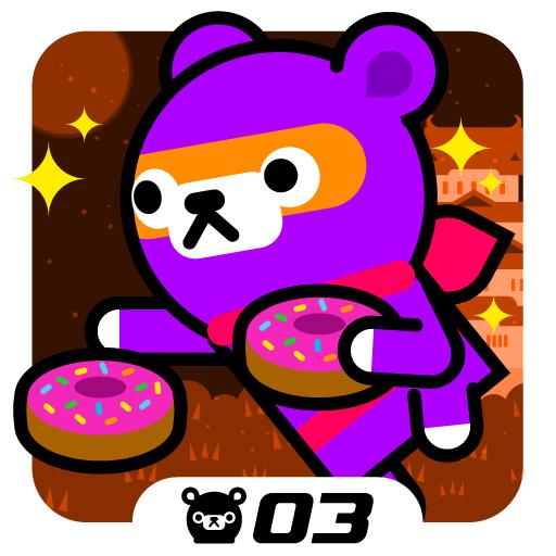 Donut Ninja - Tappi Bear: Amazon.es: Appstore para Android