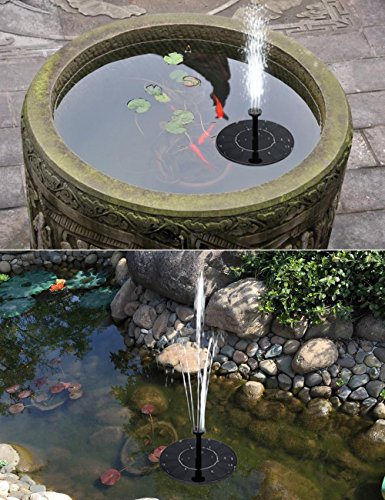 Solar water pump for pond solar water fountain pump ousi for Pond fountains for sale