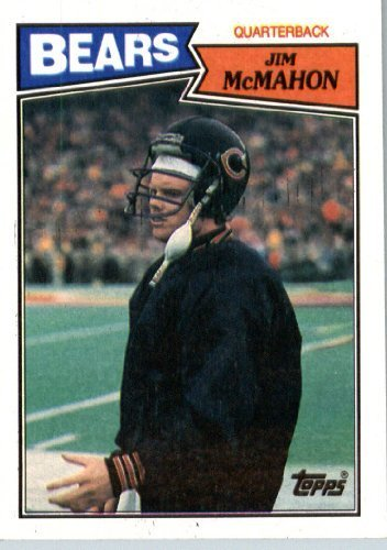 1987 Topps # 44 Jim McMahon Chicago Bears Football Card- Near Mint to Mint Condition - In Protective Screwdown Display Case! (Jim Mcmahon Chicago Bears compare prices)