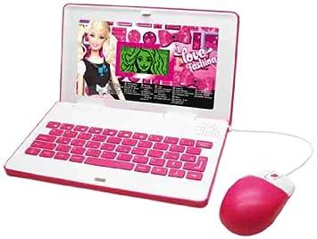 Amazon.es: Diset - Ordenador Barbie C/ Raton 30 Juego Y Actividades 28-504044