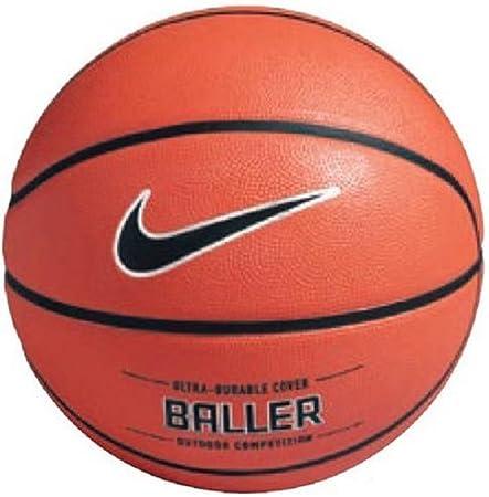Nike Baller Balón, Hombre, Naranja/Negro Platino, 7: Amazon.es ...