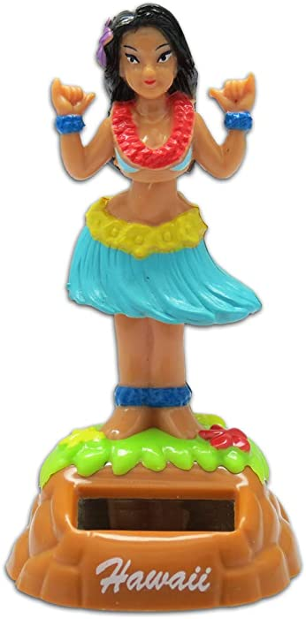 KC Hawaii Shaka Hula Girl Solar Dashboard Doll