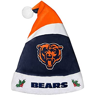 Forever Collectibles 9016323886 Chicago Bears Basic Santa Hat - 2016