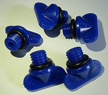 Mercruiser Blue Plastic Drain Plug By Sierra 18-4226
