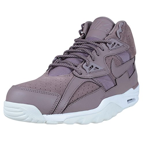 Nike Men's Air Trainer SC High Taupe Grey 302346-201 (Size: 9.5) (Nike Sc Trainer High)