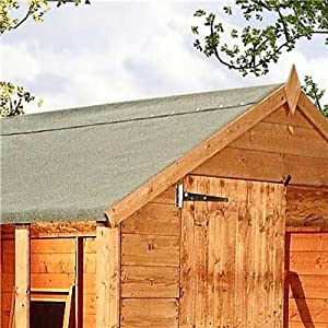 premium green mineral shed roofing felt 4m x 1m roll. Black Bedroom Furniture Sets. Home Design Ideas
