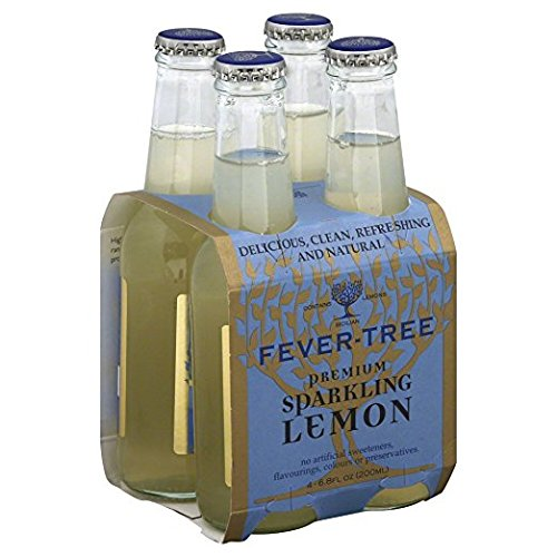 Fever Tree Sparkling Lemon 6x4/200ml, 24 Count