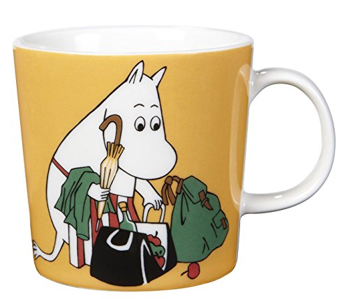 ARABIA Moomin Mamma Mom Mug Apricot 0.3L