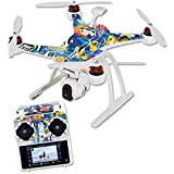Skin For Blade Chroma Quadcopter – Tropical Fish | MightySkins Protective, Durable, and Unique Vinyl Decal wrap cover | Easy To Apply, Remove, and Change Styles | Made in the USA