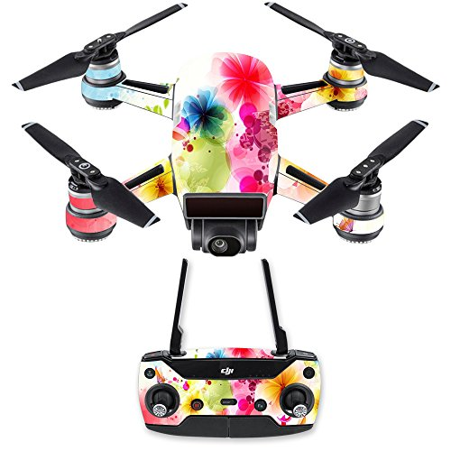 (MightySkins Skin for DJI Spark Drone & Controller - Pollinate | Protective, Durable, and Unique Vinyl Decal wrap Cover | Easy to Apply, Remove, and Change Styles | Made in)