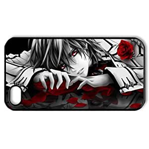CTSLR Cartoon & Comic Series Protective Hard Case Cover for iPhone 4 & 4S - 1 Pack - Vampire Knight