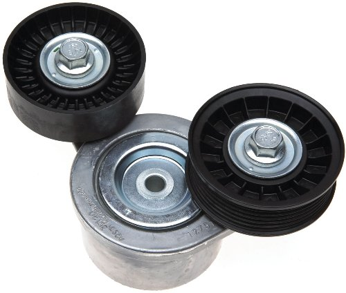 - ACDelco 39120 Professional Automatic Belt Tensioner and 2 Pulley Assembly