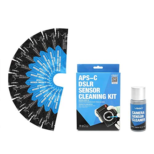Professional APS CCD/CMOS 12PCS Cleaning Swab Sensor Cleaner Kit for DSLR Camera
