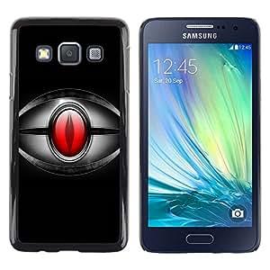 LECELL -- Funda protectora / Cubierta / Piel For Samsung Galaxy A3 SM-A300 -- Red Eye --
