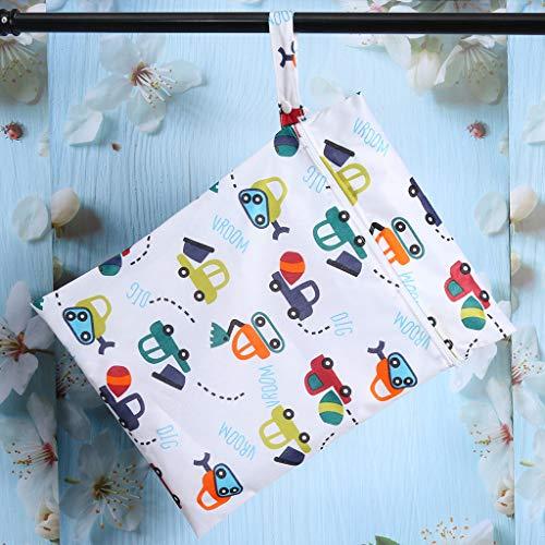Euone Clearance Sales,Cartoon Pattern Portable Zipper Storage Bag Package Handbag Totes Shopper