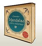 Colección Mandalas para Colorear. Cinco libros de Mandalas con estuche de lujo. [paperback] Texto: Equipo Editorial Dante [Jan 01, 2018] ...