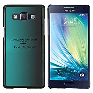 EJOOY---Cubierta de la caja de protección para la piel dura ** Samsung Galaxy A5 A5000 ** --Crear más ahora hay próxima vez